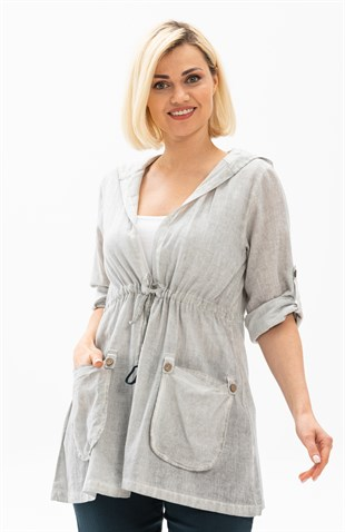 Idil Tunic Gray