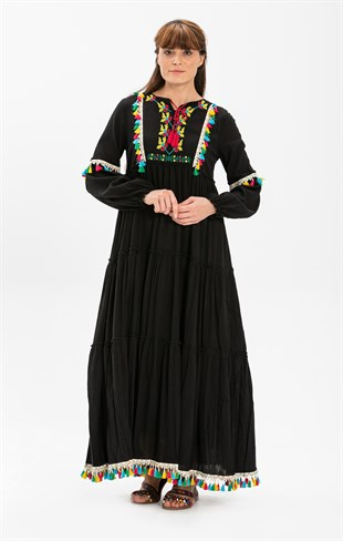 Iffet Dress Black