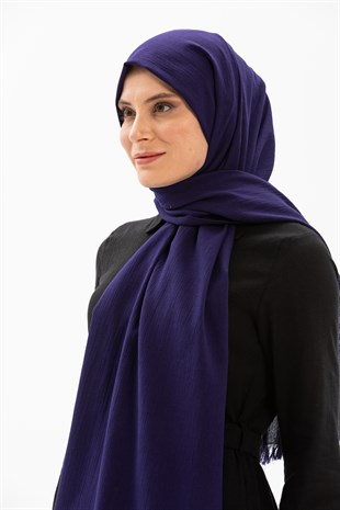 Sile Fabric Shawl Purple