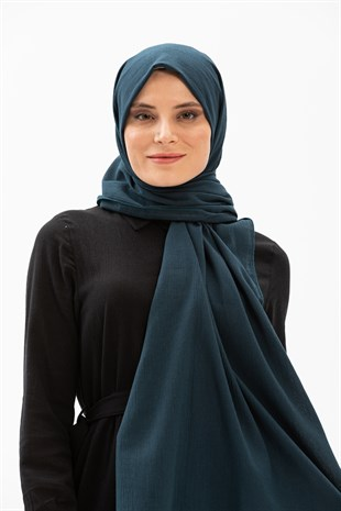 Şile Cloth Shawl Petrol
